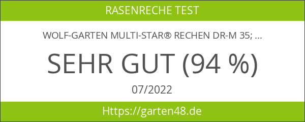 WOLF-Garten multi-star® Rechen DR-M 35; 1658000