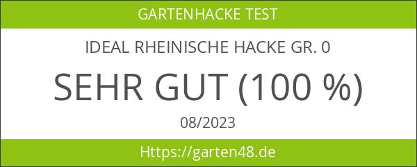 IDEAL Rheinische Hacke Gr. 0