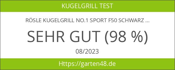Rösle Kugelgrill No.1 Sport F50 schwarz